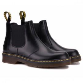 Wishot(c) 57221/145-бай 41(р) ботинки black 100% кожа/бай