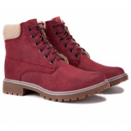 Wishot 31-985d-bo 36(р) ботинки bordo нубук