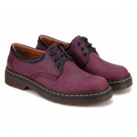 Wishot(c) 6776/29-61 39(р) туфли bordo/black 100% кожа
