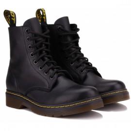 Ботинки wishot 400-11-blk-v 36(р) black кожа