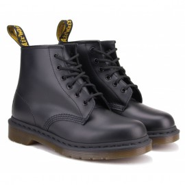 Dr.martens smooth 10064001-101 39(6)(р) ботинки black 100% кожа