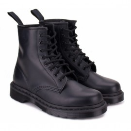 Dr.martens mono 14353001-1460 37((4)(р) ботинки black smooth 100% кожа