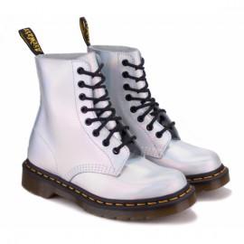 Dr.martens iced metallic pascal 23551073-1460 37((4)(р) ботинки silver lazer 100% кожа