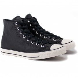 Converse chuck taylor all star tumble leather 157468c 42(8,5)(р) кеды black 100% кожа