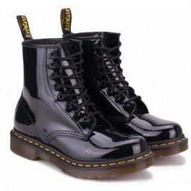 Dr.martens womens patent lamper 11821011-1460 37(4)(р) ботинки black лак