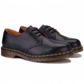 Dr.martens 10085001-1461 smooth 41((7)(р) туфли black 100% кожа