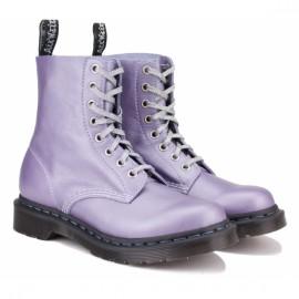Ботинки dr.martens 1460 pascal metallic virginia 24984666-1460 39(6)(р) lavender кожа