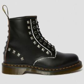Ботинки dr.martens 1460 stud rolled 25202001-1460 36(3)(р) black кожа