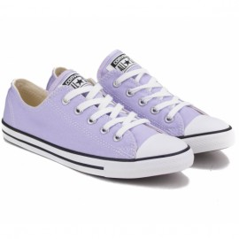 Кеды converse chuck taylor dainty ox 542515f 37((6)(р) purple текстиль