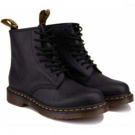 Ботинки dr. martens 1460 greasy leather 11822003 39(6)(р) black кожа