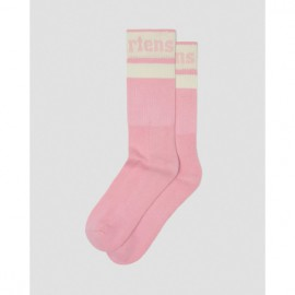 Носки dr. martens athletic logo cotton ac681688 pink