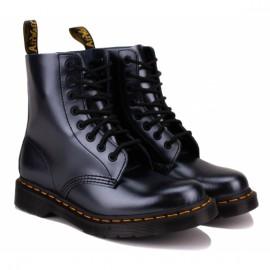 Ботинки dr. martens 1460 pascal chroma metallic leather 26233040 silver