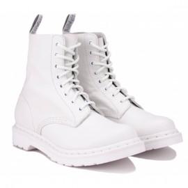 Ботинки dr. martens 1460 pascal virginia mono 24480100 optical white