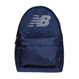 New balance action backpack 500162-400 o/s(р) рюкзак navy материал