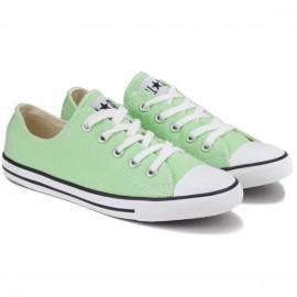 Кеды converse chuck taylor dainty ox 537079c 37(6)(р) green текстиль