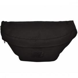 New balance waist pack 500279-000 o/s(р) поясная сумка black материал