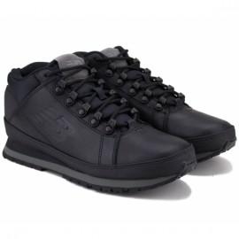 Ботинки new balance h754llk 43(9,5)(р) black 100% кожа