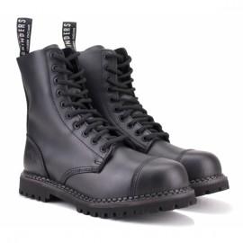 Ботинки grinders stag cs black на 10 люверсов 43(9)(р) 100% кожа