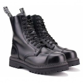 Ботинки grinders bulldog cs black на 10 люверсов 39(6)(р) 100% кожа