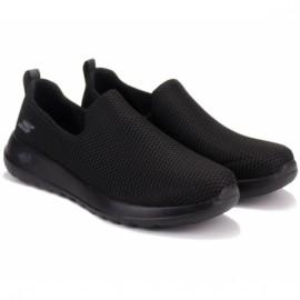 Слипоны skechers gowalk max 54600/bbk (km2781) 41(8)(р) black/black текстиль