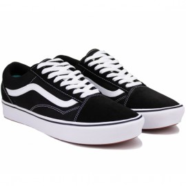 Кеды vans old skool comfycush vn0a3wmavne1 40(7,5)(р) black v173