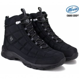 Ботинки columbia firecamp boot 1672881-012 43,5(10,5)(р) black текстиль/нубук