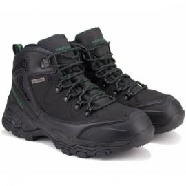 Ботинки skechers relaxed fit 65115 blk (km2701) 42(9)(р) black кожа