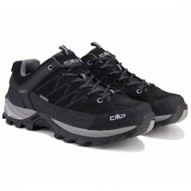Ботинки cmp rigel low trekking 3q13247-73uc 41(р) black нубук