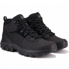 Ботинки columbia newton ridge plus ii waterproof 1594731-011 41(8)(р) black кожа