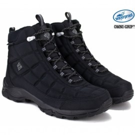Ботинки columbia firecamp boot 1672881-012 42(9)(р) black полиэстер