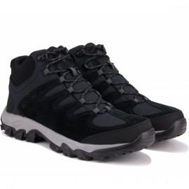 Ботинки columbia buxton peak mid waterproof 1790971-010 43,5(10,5)(р) black замша