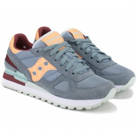 Saucony shadow original s1108-631 39(8)(р) кроссовки grey/yellow замша/материал