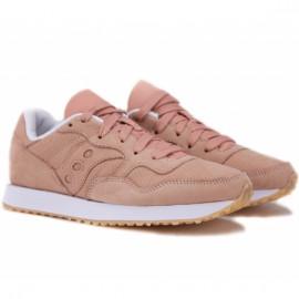 Saucony dxn trainer cl nubuck s60360-3 36(5,5)(р) кроссовки pink нубук