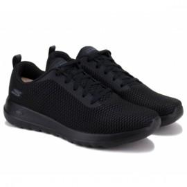 Кроссовки skechers gowalk 15601/bbk(kw4707) 38(8)(р) black/black текстиль