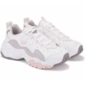 Кроссовки skechers dlites 3 12955 wgpk (kw4820) 36,5(6,5)(р) white/pink кожа