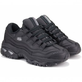 Кроссовки skechers energy 2250 bbk (kw5113) 40(10)(р) black/black кожа
