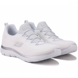 Кроссовки skechers summits 149036 wsl (km5334) 36(6)(р) white текстиль