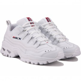 Кроссовки skechers energy 13423 wml (kw5146) 37(7)(р) white кожа
