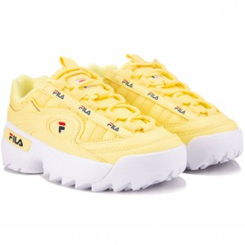 Кроссовки fila d-formation 1010856-60q 39(8)(р) yellow кожа