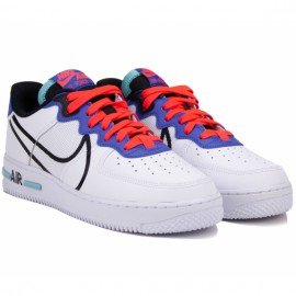 Кроссовки nike air force 1 react ct1020-102 40,5(7,5)(р) white кожа
