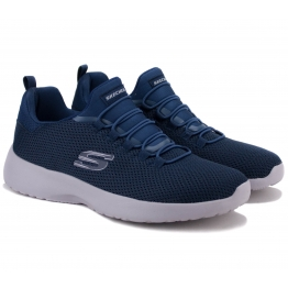 КРОССОВКИ SKECHERS DYNAMIGHT 58360 NVY (KM3073) 43(10)(р) Navy Текстиль
