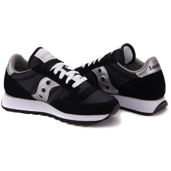 SAUCONY JAZZ ORIGINAL 1044-1 38(7)(р) Кроссовки SIL/BLK Замша/Материал