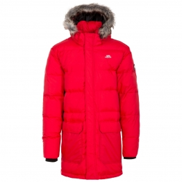 КУРТКА TRESPASS BAIRD DOWN PARKA JACKET MAJDOM20005-RD-M  Red Нейлон