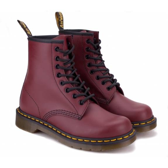 DR.MARTENS SMOOTH 10072600-1460 46(11)(р) Ботинки Cherry Red 100% Кожа