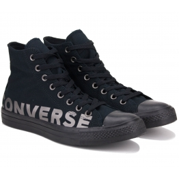 КЕДЫ CONVERSE CHUCK TAYLOR ALL STAR WORDMARK HI 165429C 39(6)(р) Black Текстиль