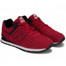 КРОССОВКИ NEW BALANCE GC574EO 38(5,5)(р) Red Замша