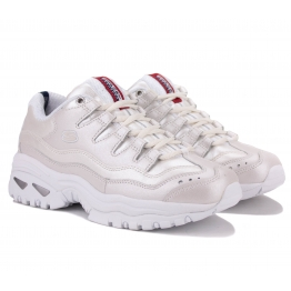 КРОССОВКИ SKECHERS ENERGY 13411 WHT (KW5137) 38(8)(р) Beige Кожа