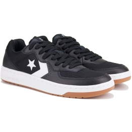 КЕДЫ CONVERSE RIVAL LEATHER LOW 163207C 41(8)(р) Black Кожа