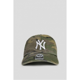 КЕПКА 47 BRAND CLEAN UP NEW YORK YANKEES CAMO B-CARGW17GWSNL-CMA Khaki