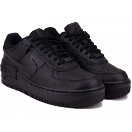 Кроссовки Nike Air Force 1 Shadow CI0919-001 Black Кожа